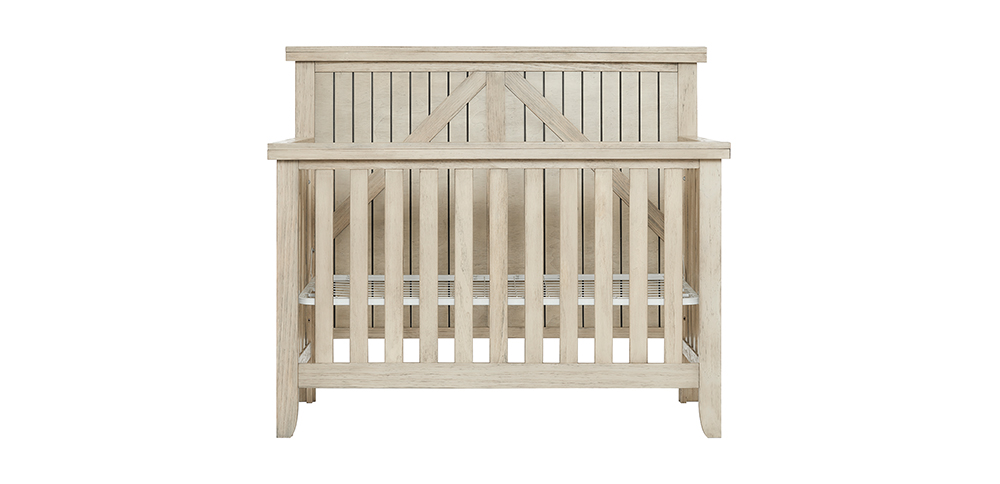 Rosewood 5-in-1 Crib Front