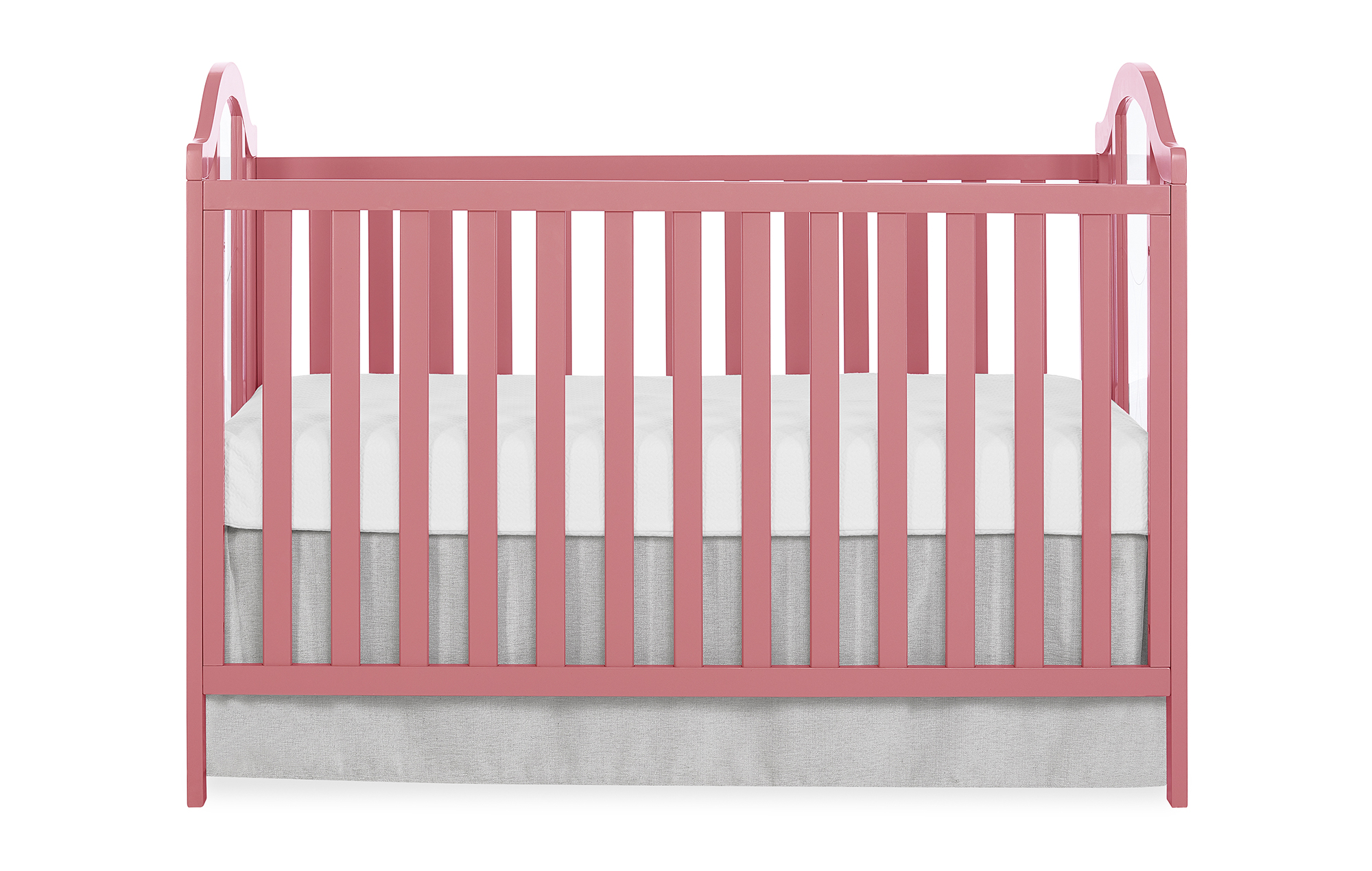 762-ROSE Pacific Convertible Crib Front