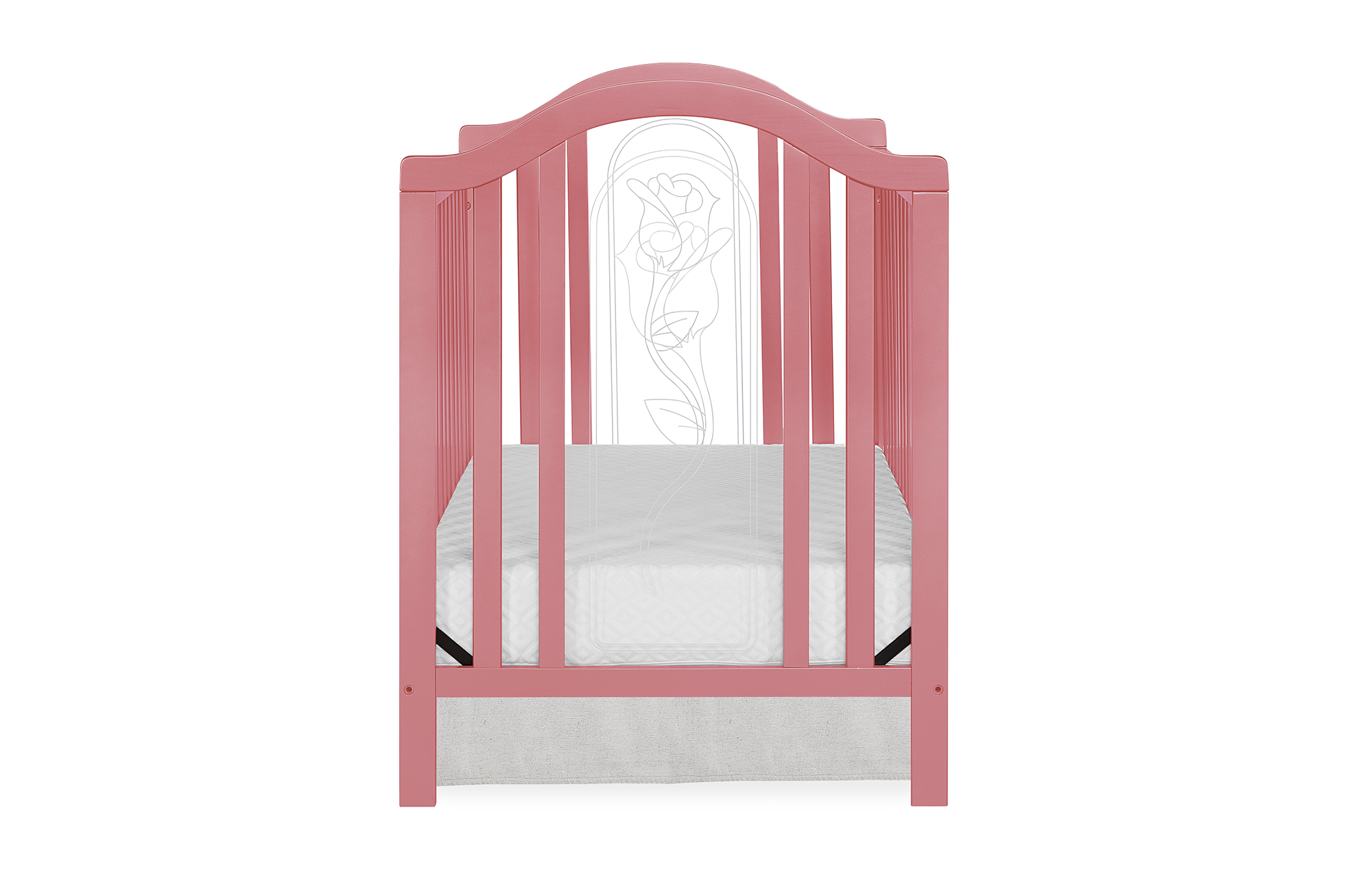 762-ROSE Pacific Convertible Crib Side