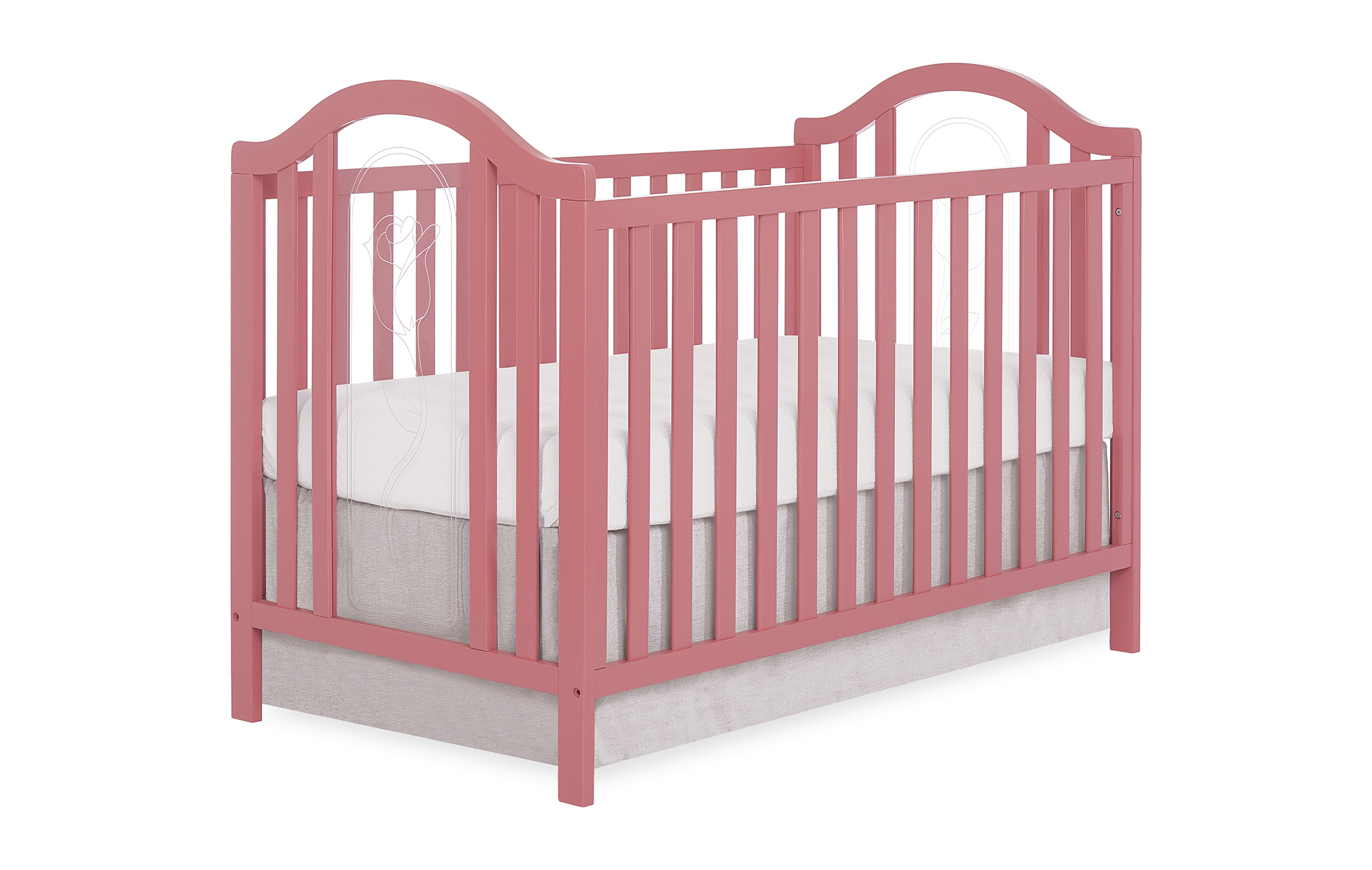 762-ROSE Pacific Convertible Crib