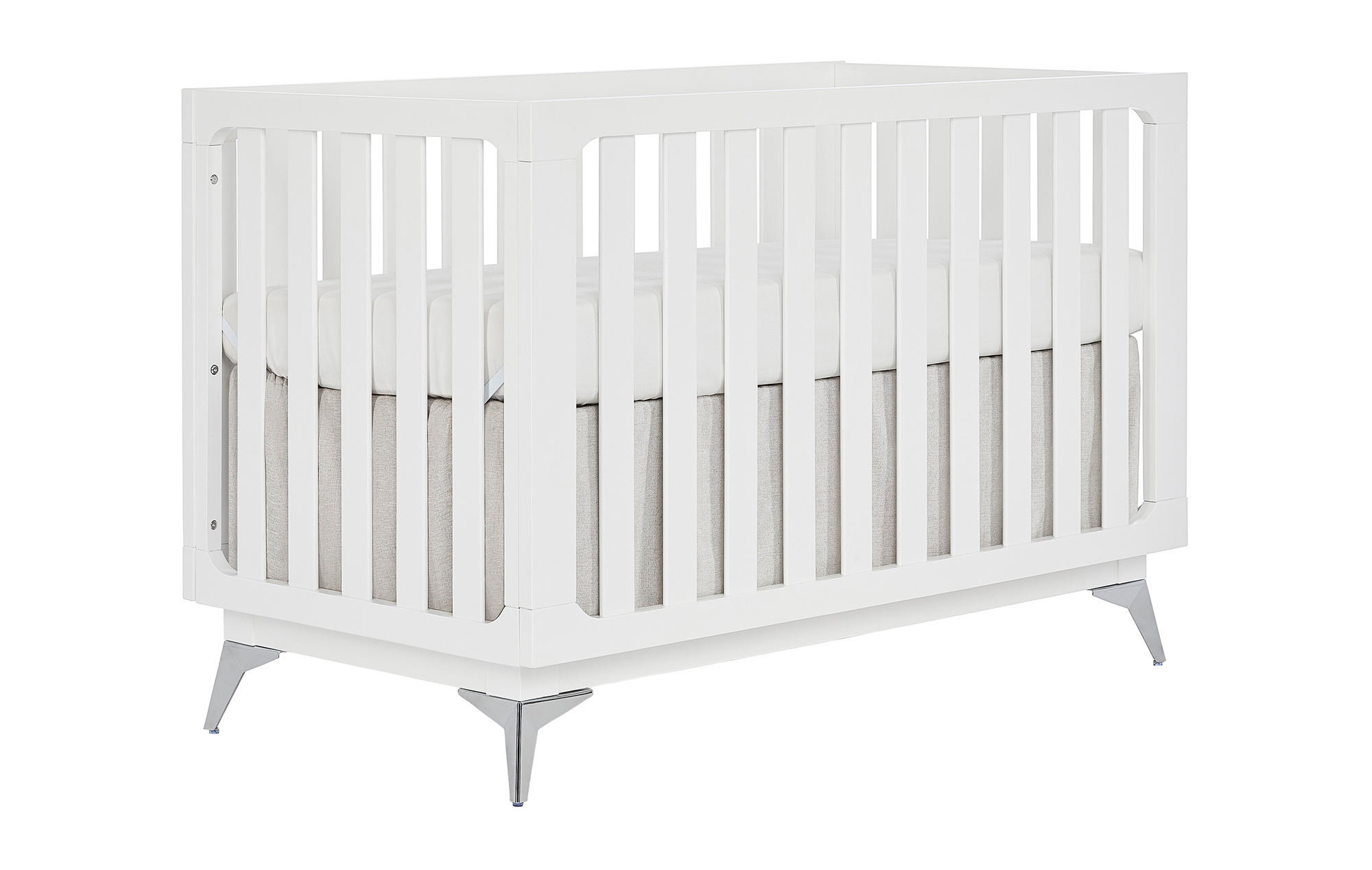 770-W Ultra Modern Convertible Crib