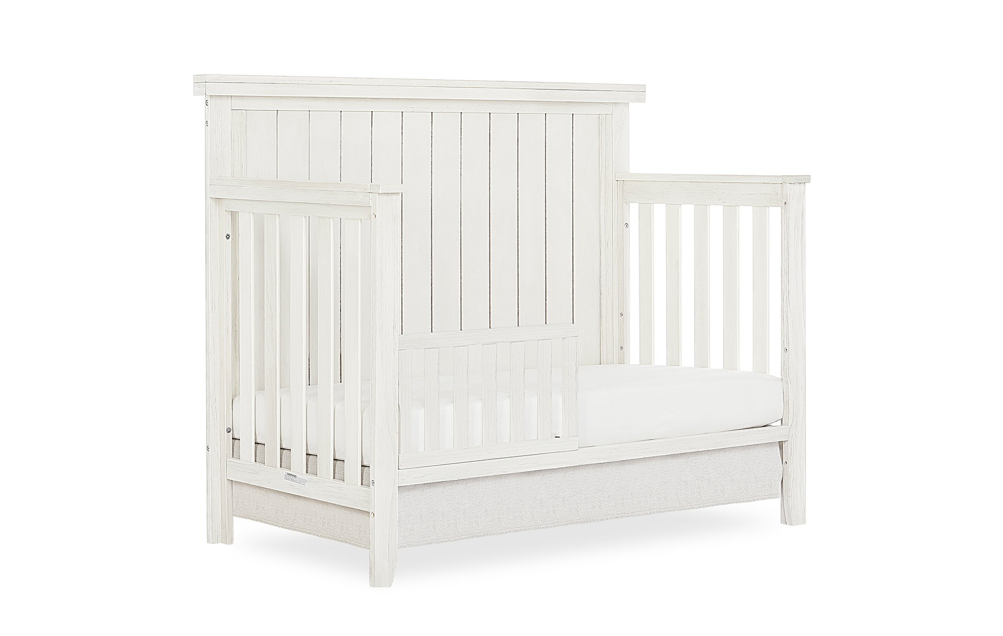 772BR_WWHITE Toddler Bed