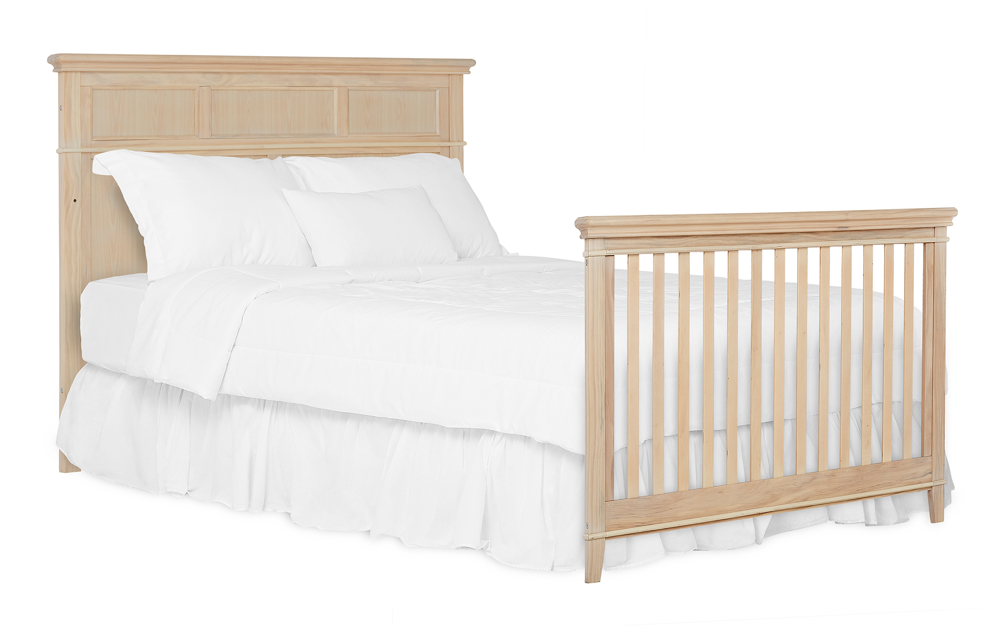 776-VOAK Dover Full Size Bed with Headboard