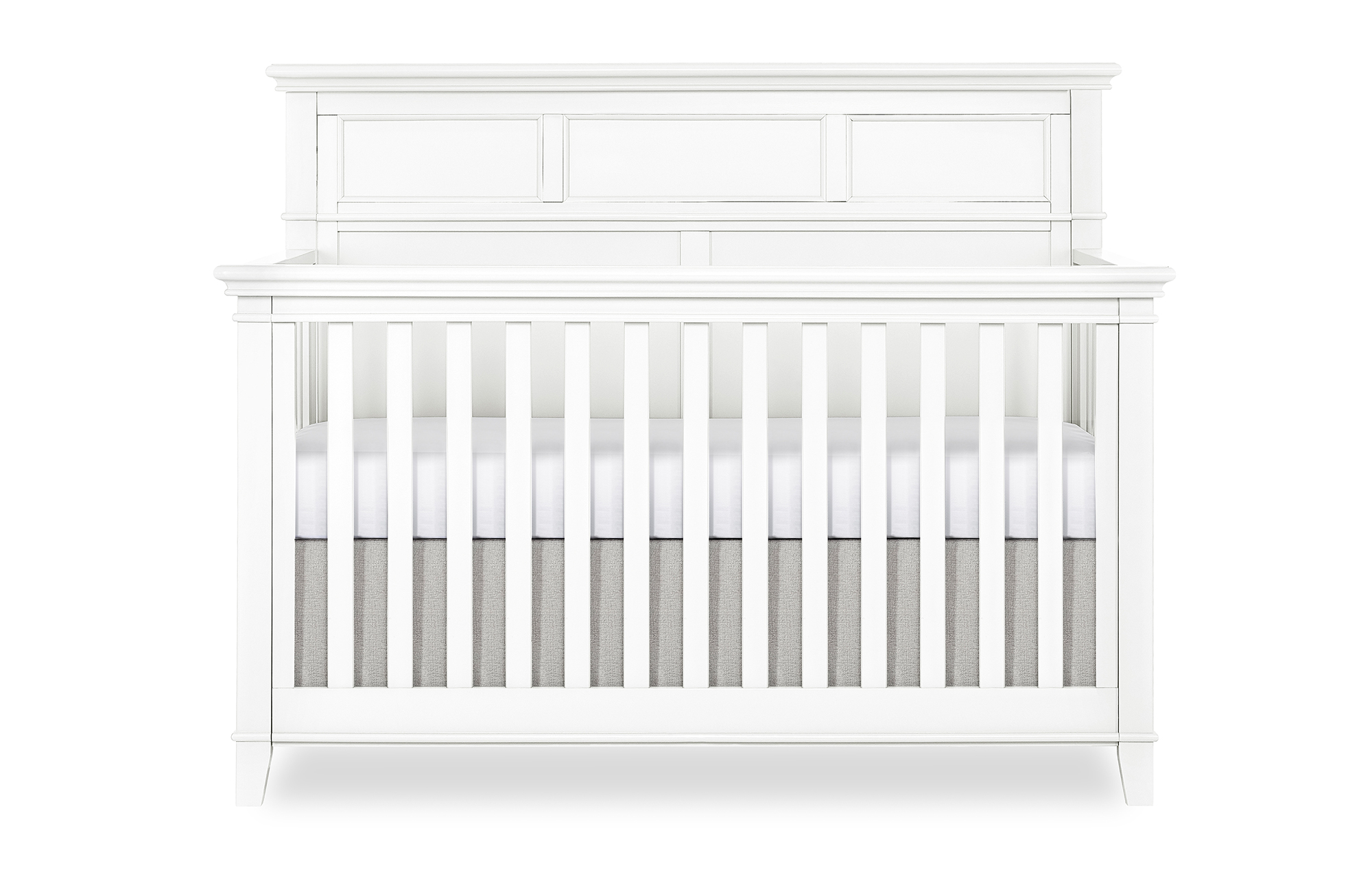 776-W Dover Convertible Crib Front