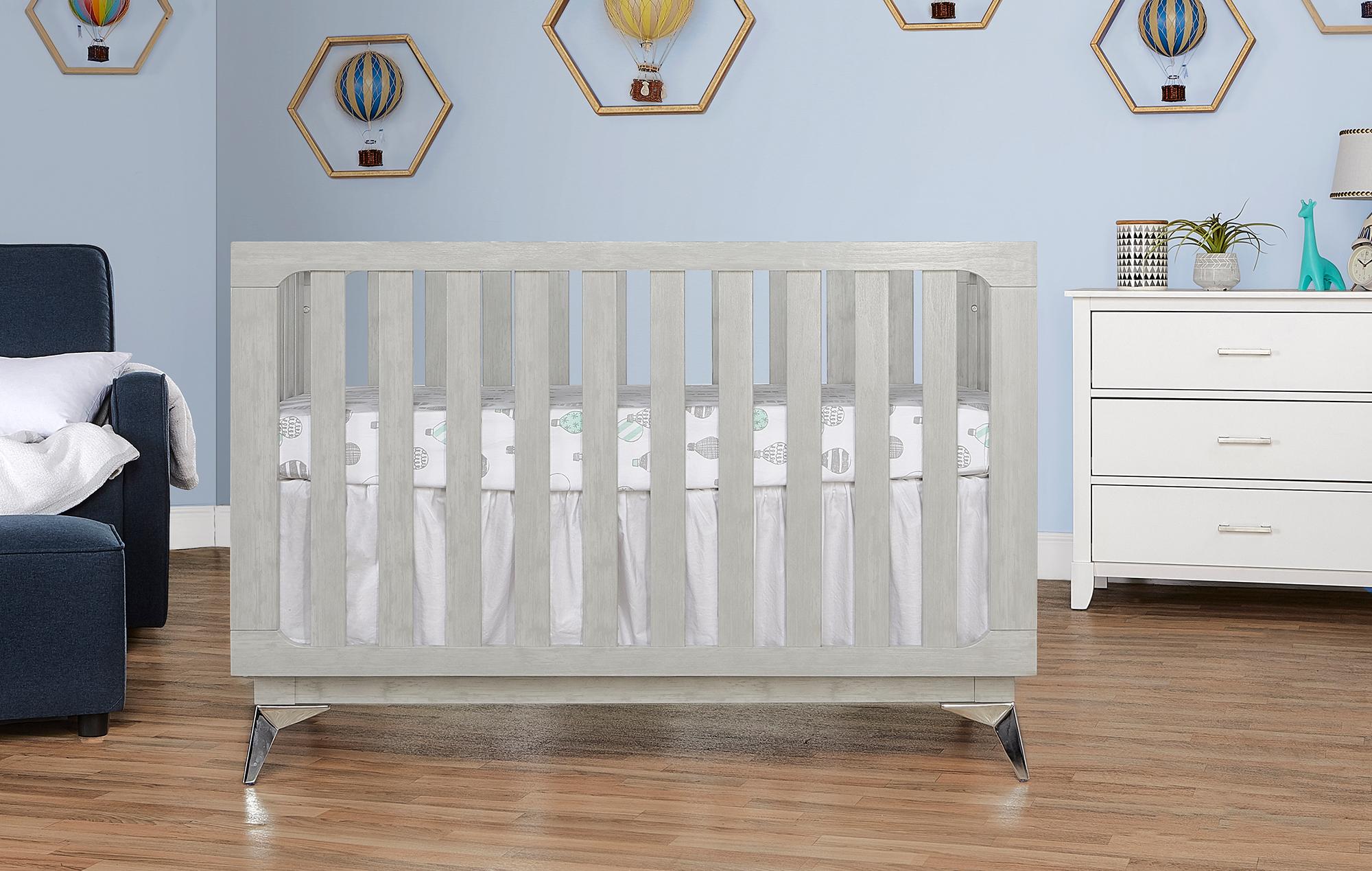 770BR-PG Ultra Modern II Crib Front