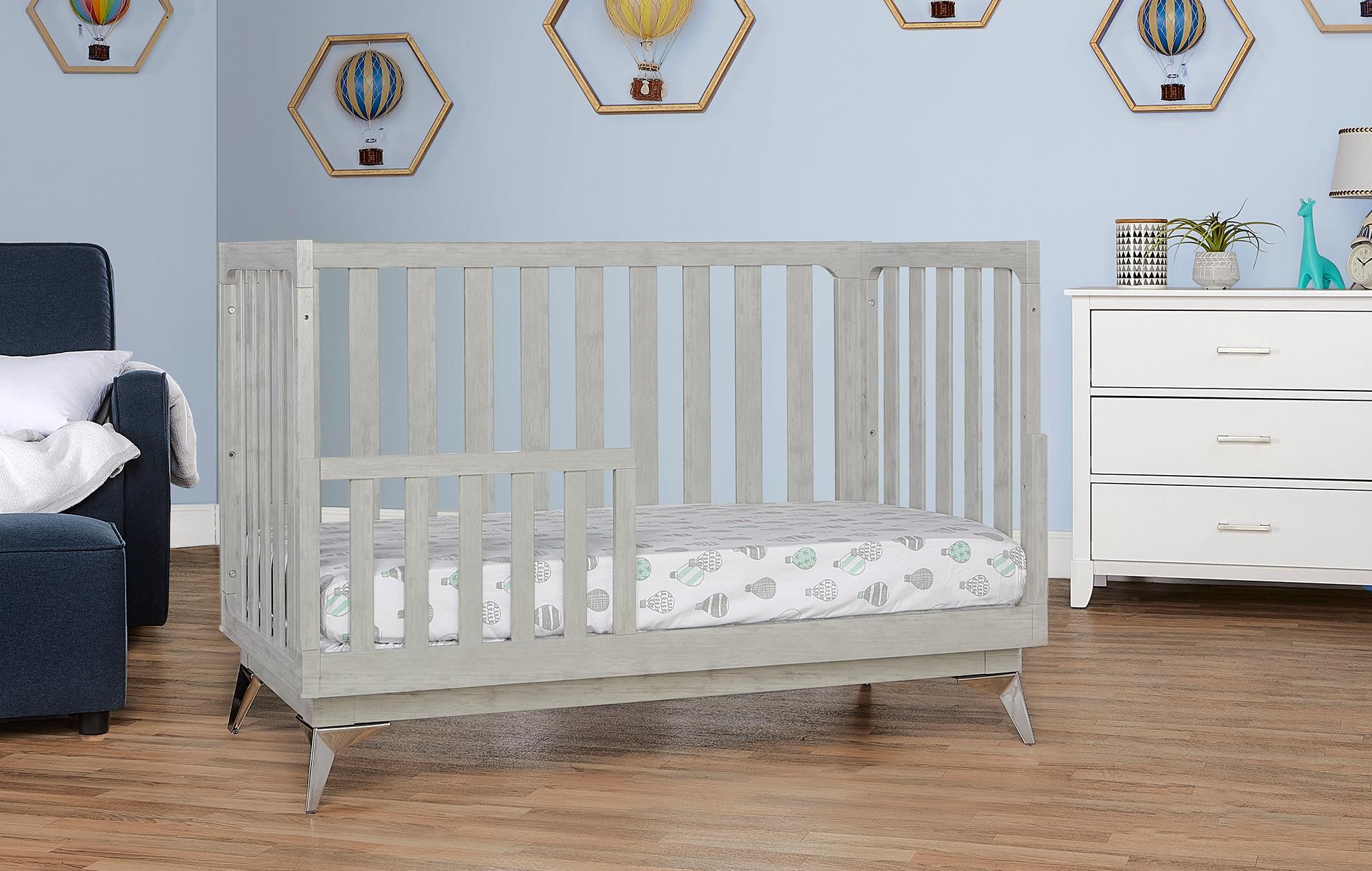 770BR-PG Ultra Modern II Toddler Bed