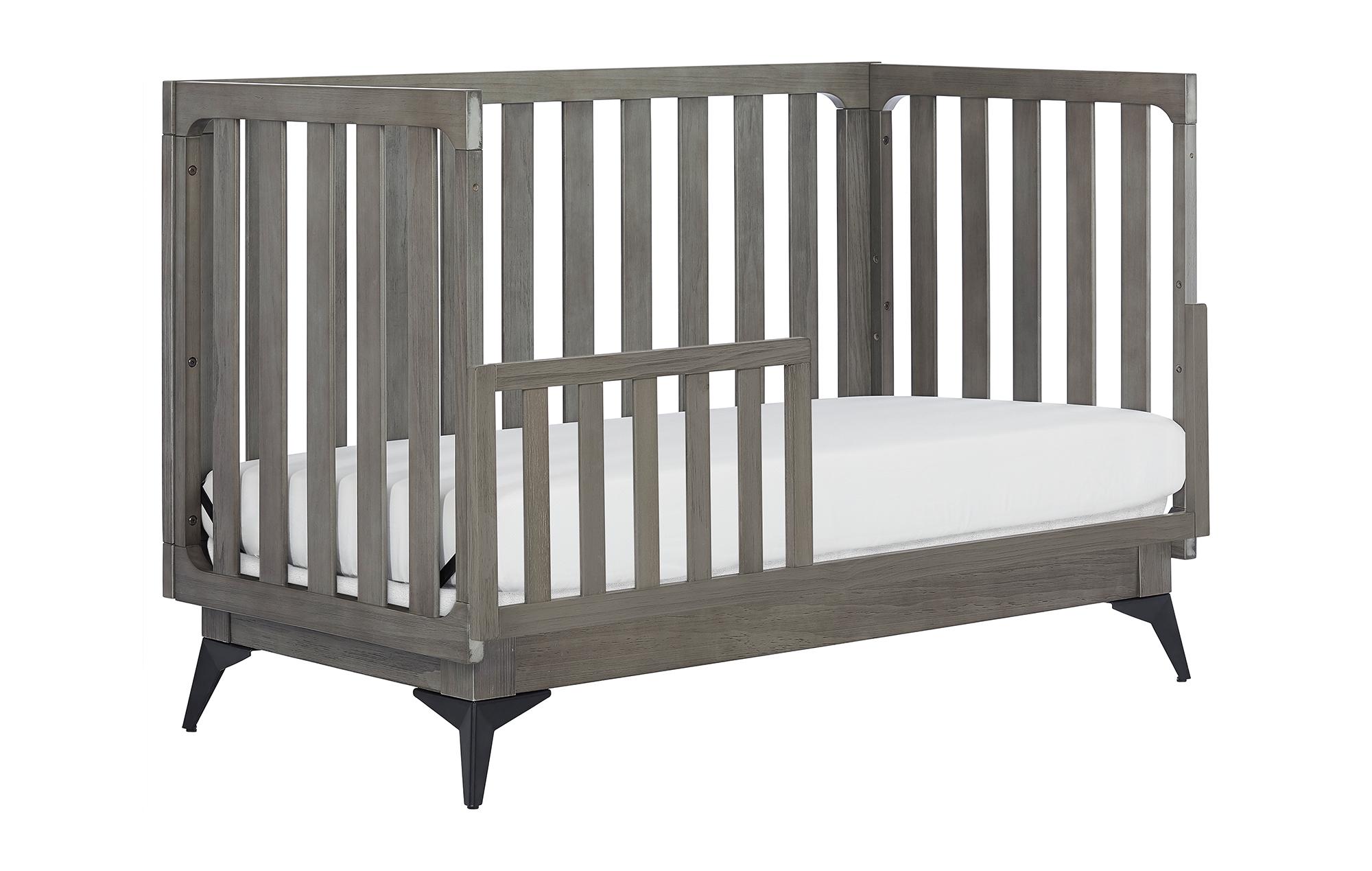 770BR-WGREY Ultra Modern II Toddler Bed