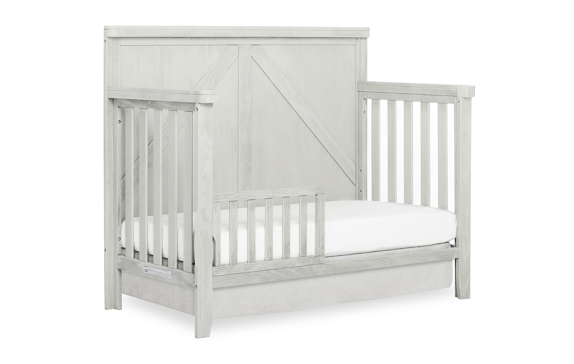 771-BWHITE Redwood Toddler Bed