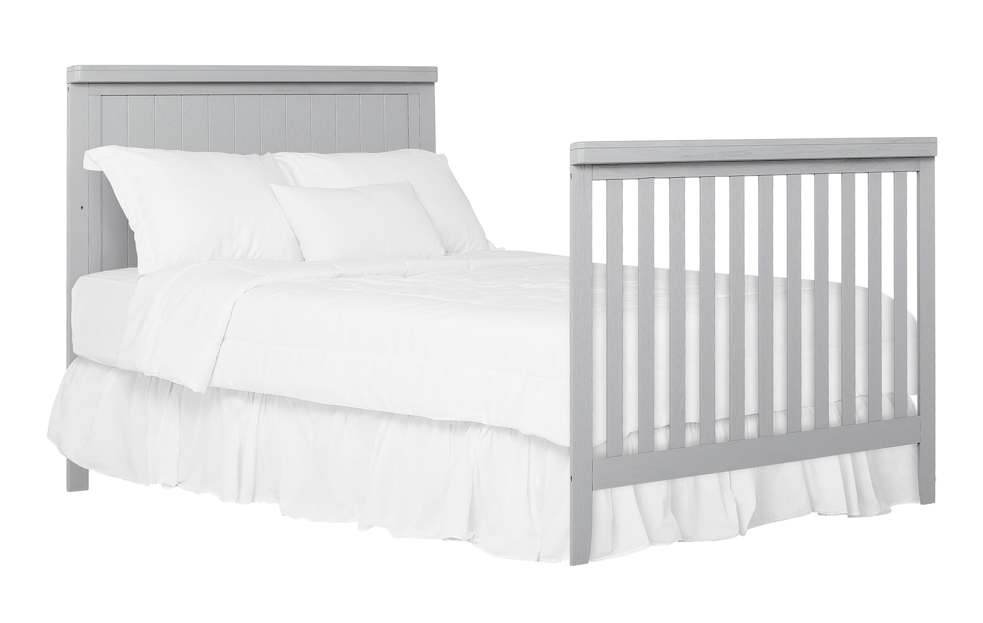 772BR-PG Redwood Crib Full-Size Bed Headfoot