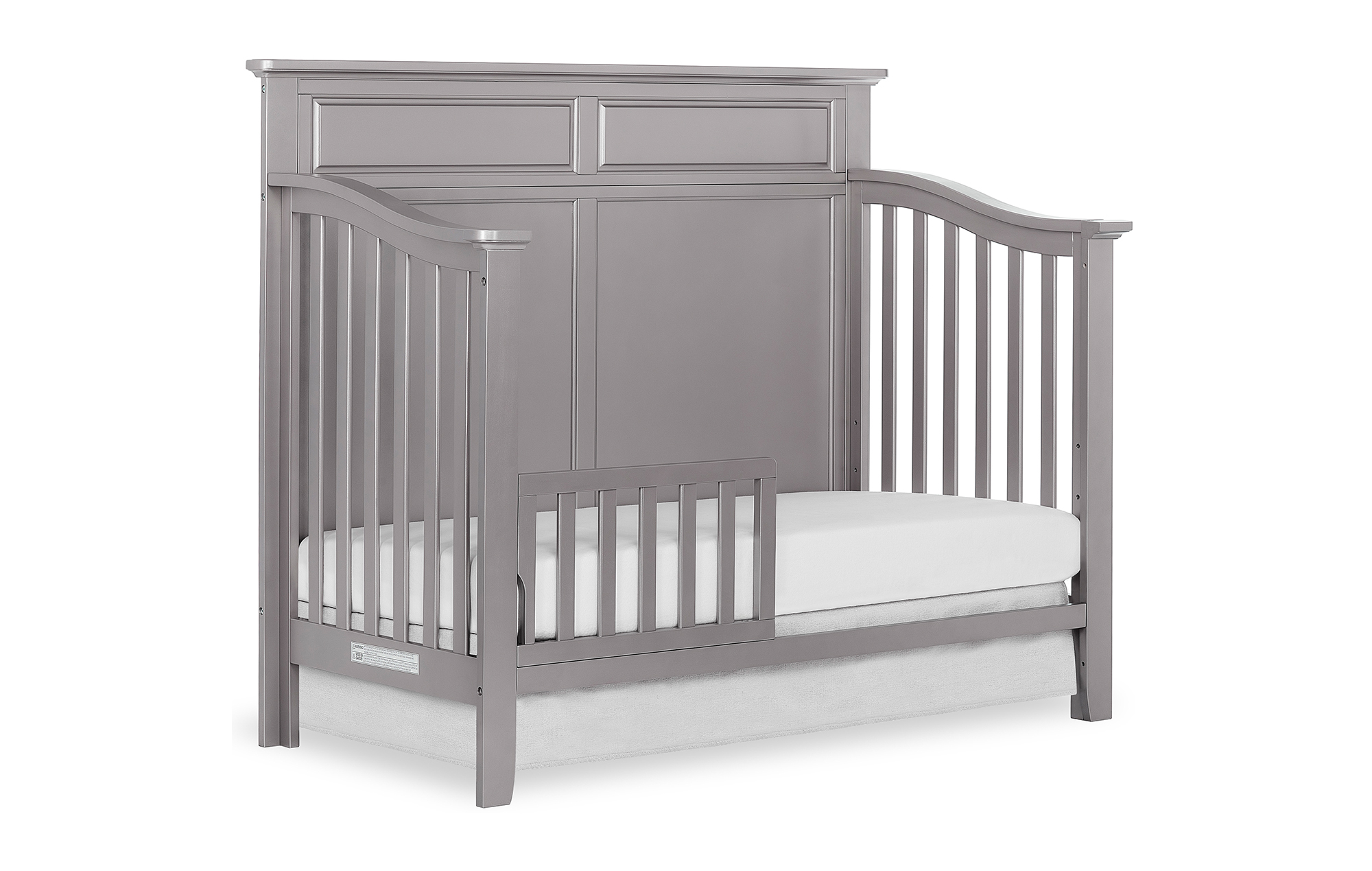 774-MGREY Fairview Toddler Bed