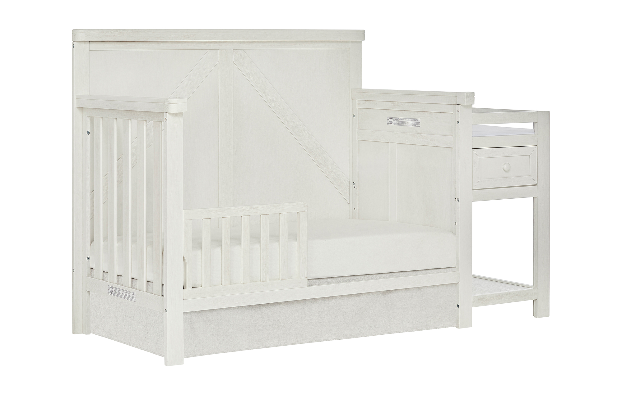 773_WWHITE Meadowland Toddler Bed