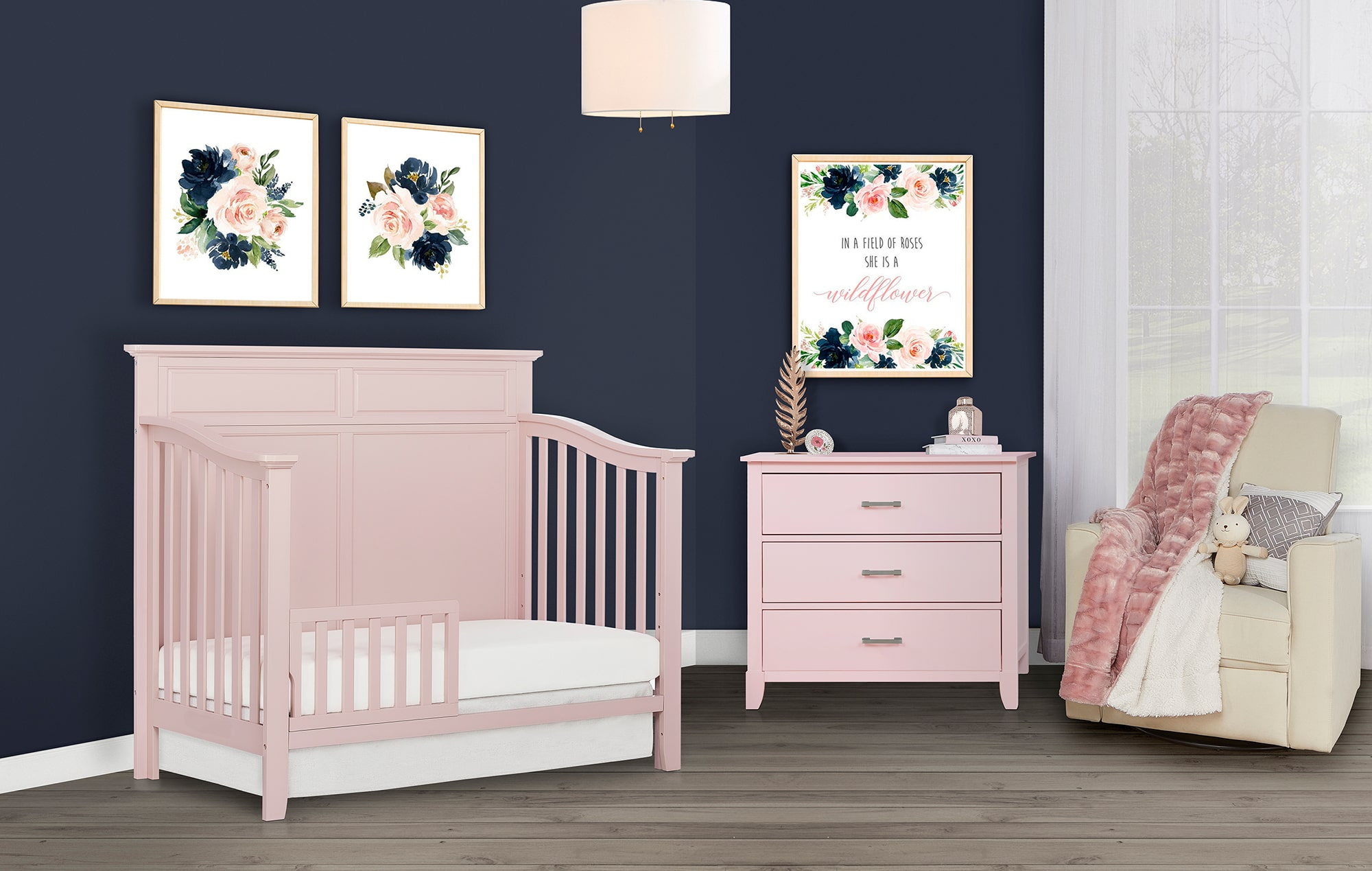774-BP Fairview Toddler Bed Lifestyle Shot