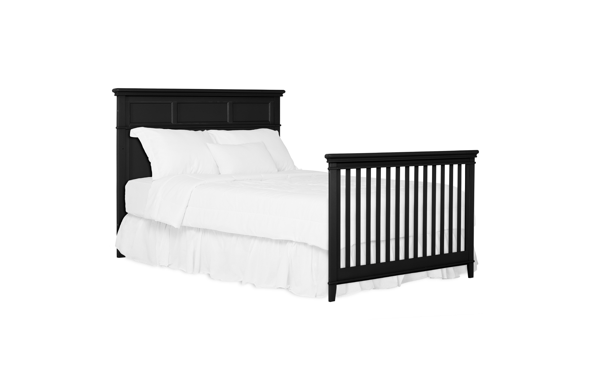 776-BLK Dover Full Size Bed with Headboard