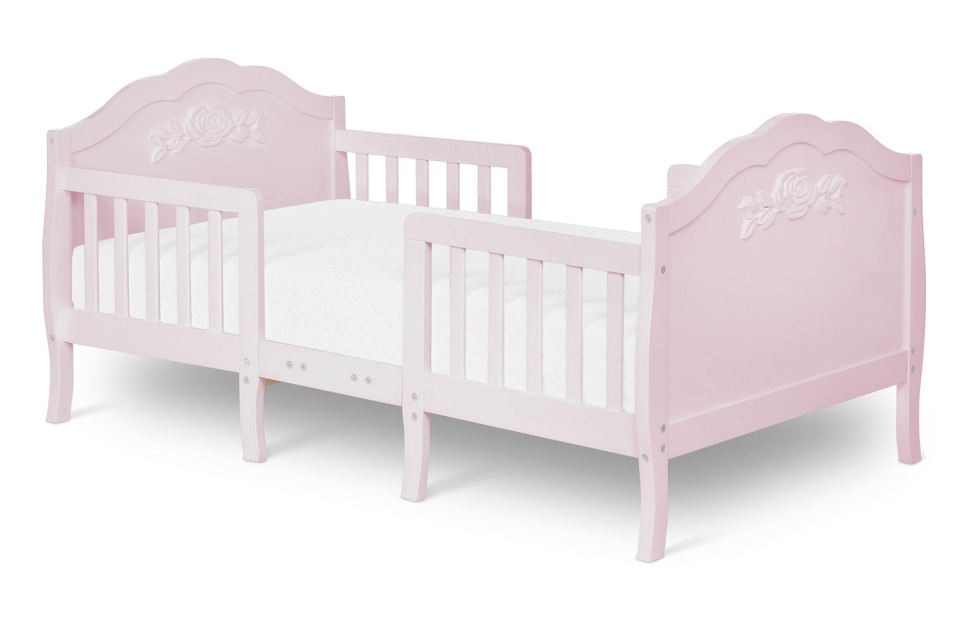 640_BLUSH Rose Toddler Bed