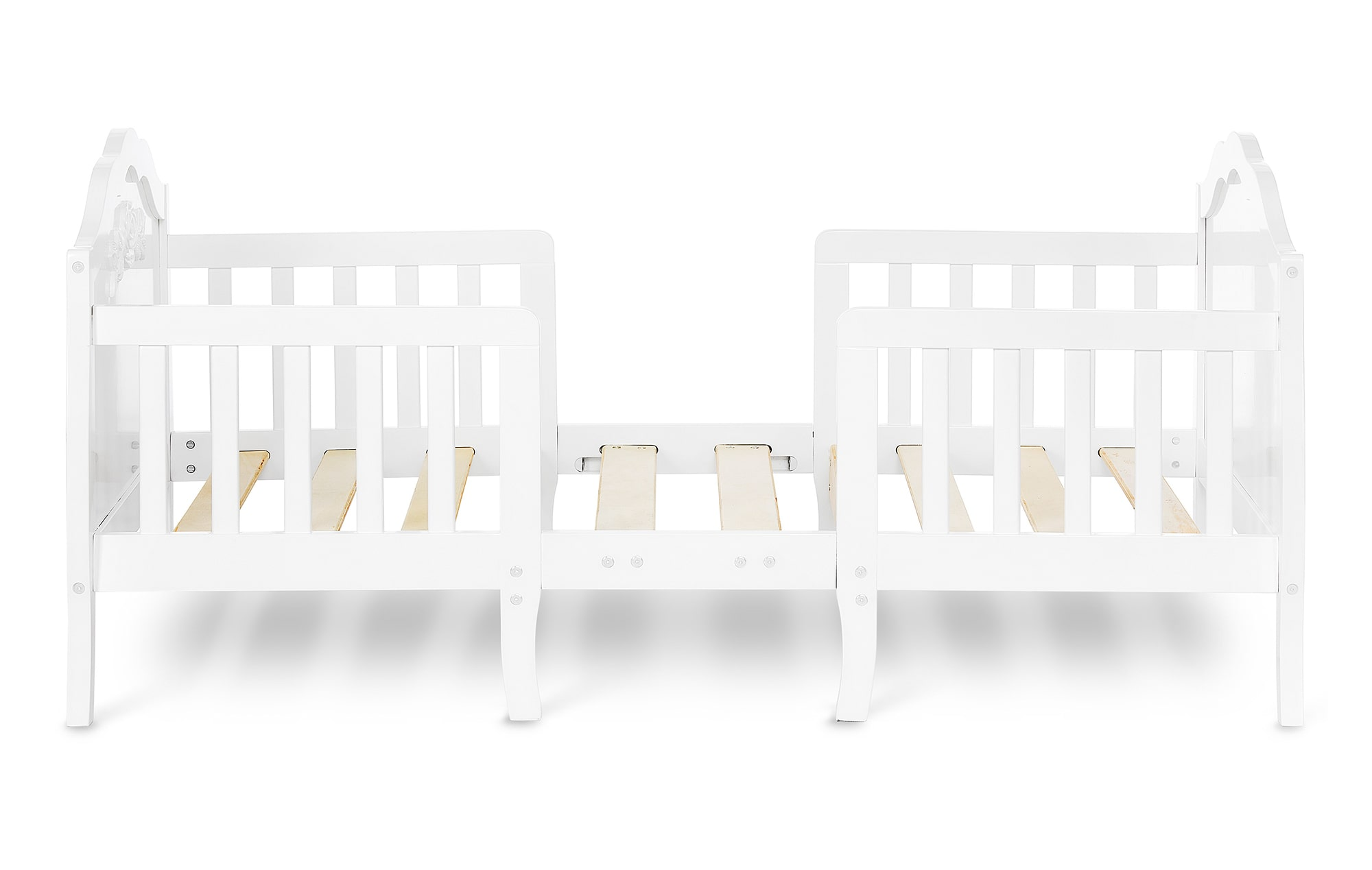 640_WHT Rose Toddler Bed Silo 4