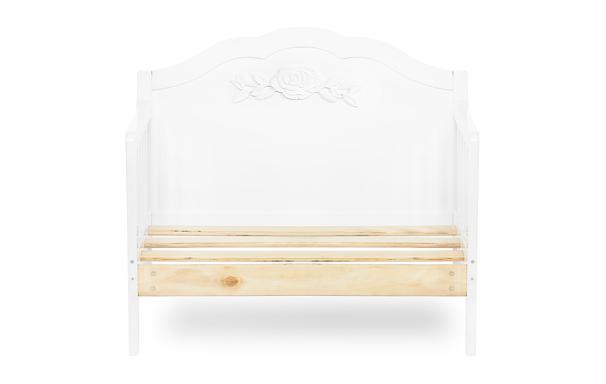 640_WHT Rose Toddler Bed Silo 8
