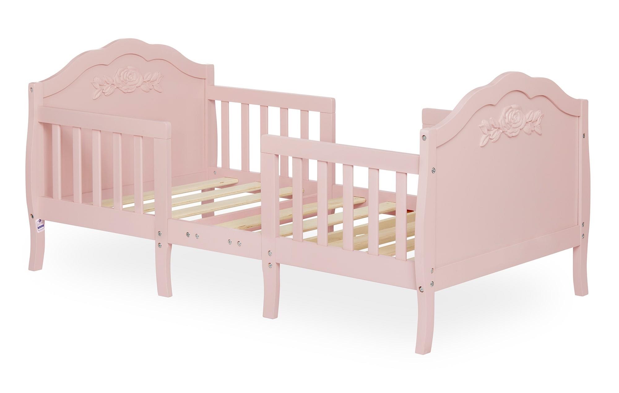 640_BLUSH Rose Toddler Bed Silo 2