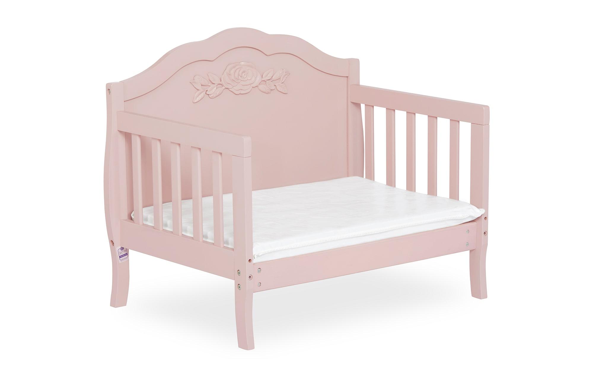 640_BLUSH Rose Toddler Bed Silo 8
