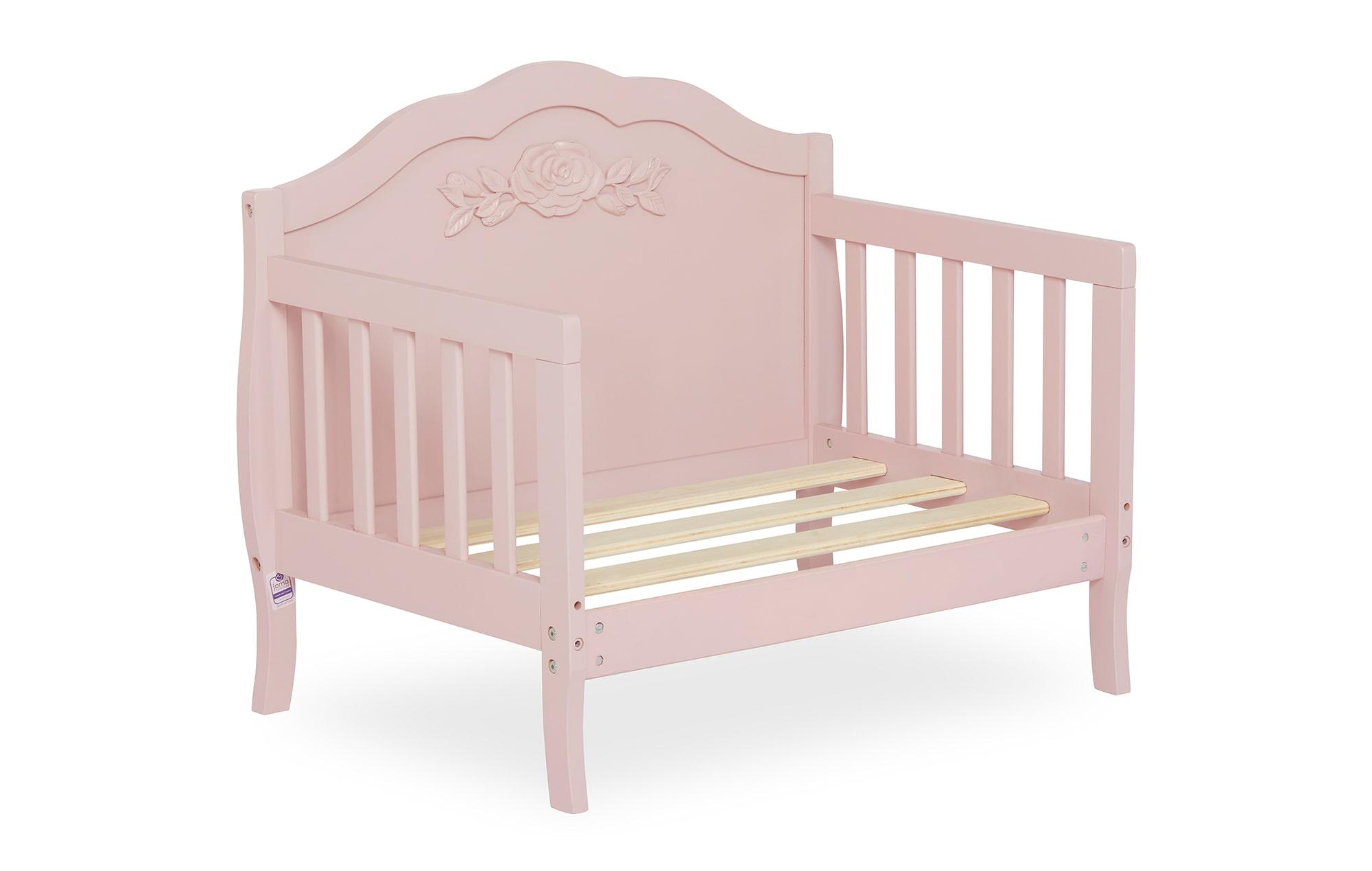 640_BLUSH Rose Toddler Bed Silo 9