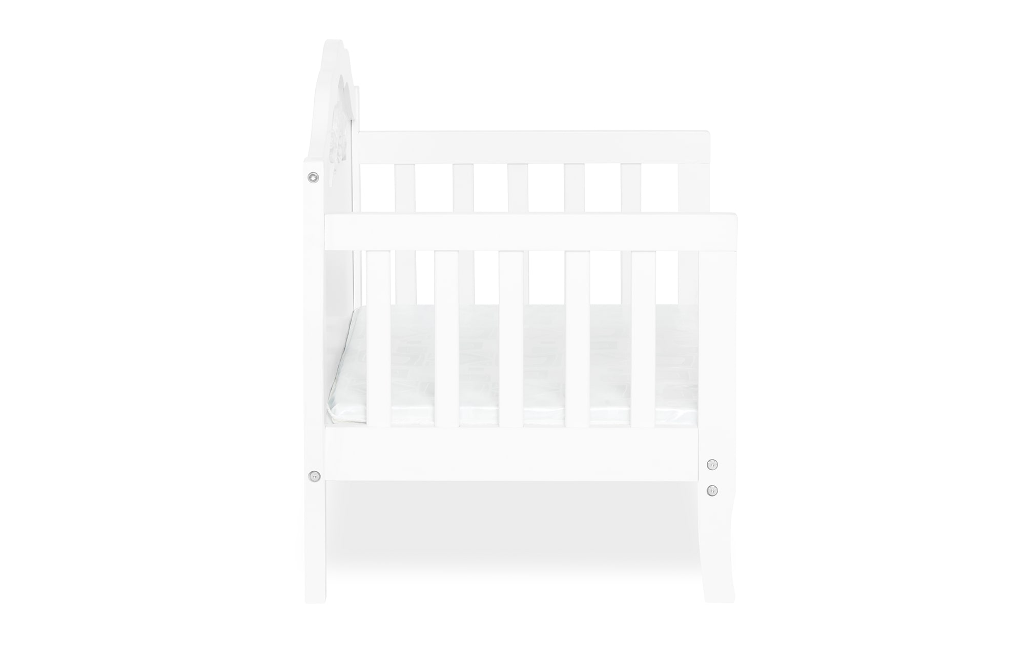 640_WHT Rose Toddler Bed Silo 10