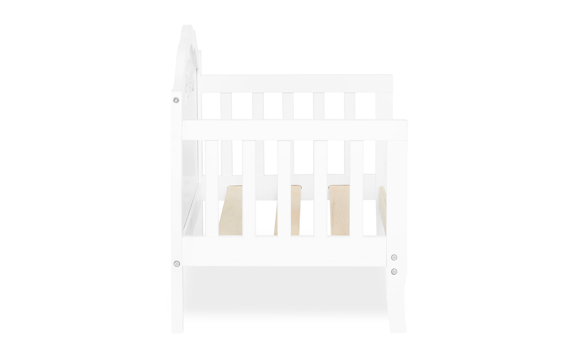 640_WHT Rose Toddler Bed Silo 11
